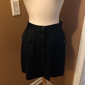 Burberry military skirt size 8